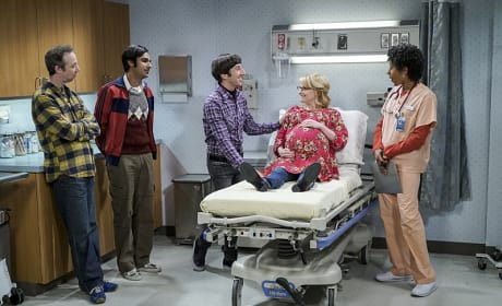 Here Comes the Baby! - The Big Bang Theory