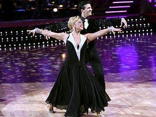 Sabrina Bryan and Mark Ballas