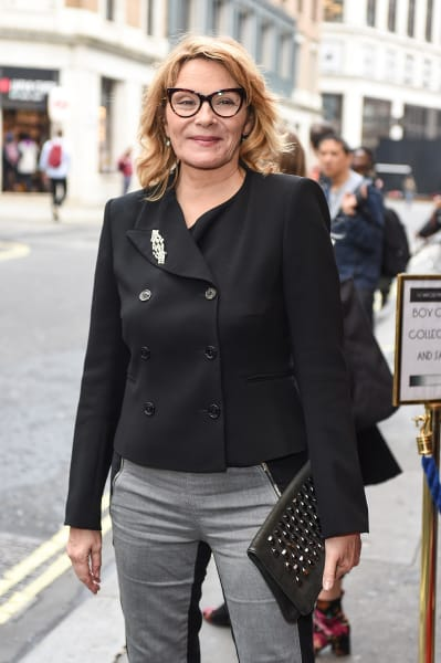 Kim Cattrall Smiles