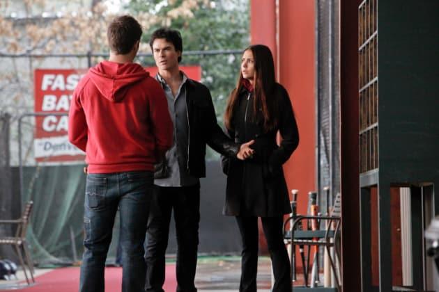 Damon, Elena and Jeremy