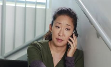 Cristina on the Phone