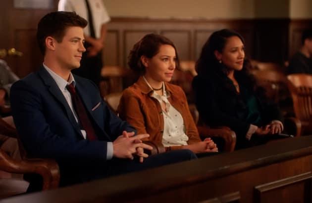 West Allen Family In Court - The Flash Season 5 Episode 10