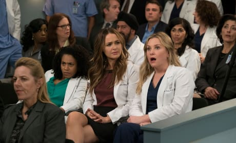 It Was That Moment When Arizona Realized ... - Grey's Anatomy Season 14 Episode 20