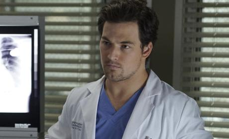 Serious DeLuca - Grey's Anatomy Season 13 Episode 14