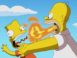 Choking Bart