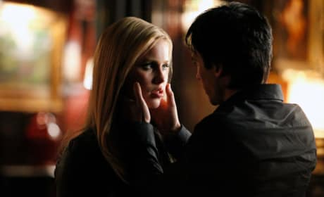 Comforted by Damon