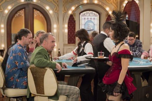 Darlene Waitress - Roseanne Season 10 Episode 9