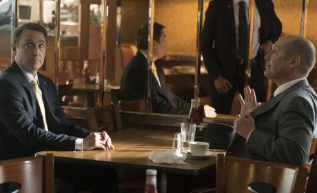 Red isn't carrying? - The Blacklist Season 4 Episode 9