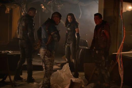 Team Arrow  Season 7 Episode 21