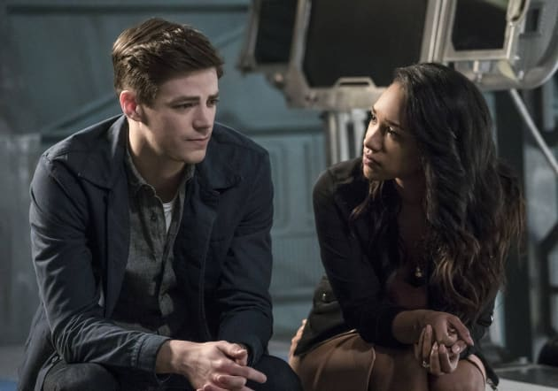 WestAllen's Awkward Chat - The Flash Season 3 Episode 21