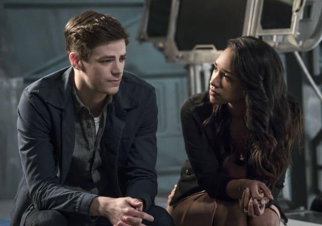 WestAllen's Awkward Chat - The Flash Season 3 Episode 21