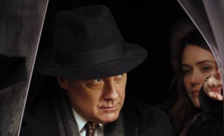 Red makes an entrance - The Blacklist Season 4 Episode 16