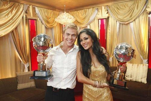 Nicole Scherzinger and Derek Hough Photo