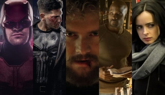 The Marvel Universe on Netflix