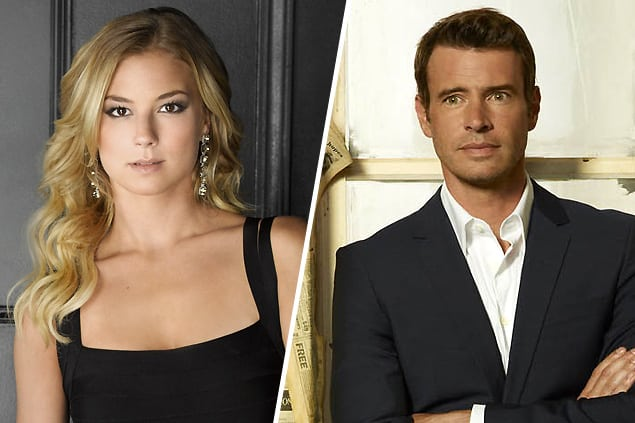 Emily Thorne (Revenge) and Jake Ballard (Scandal)