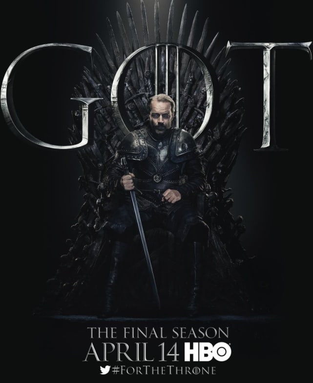 Ser Jorah on the Throne - Game of Thrones