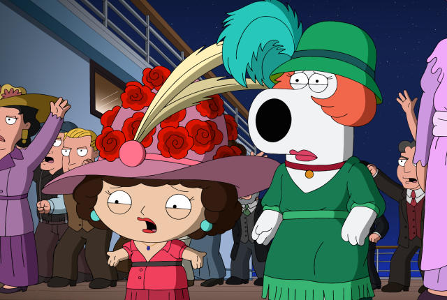 stewie dating show Roasted on 'family guy' clark collis stewie and brian cohost a zany radio show that's peppered with sound effects whom cooper was then dating.