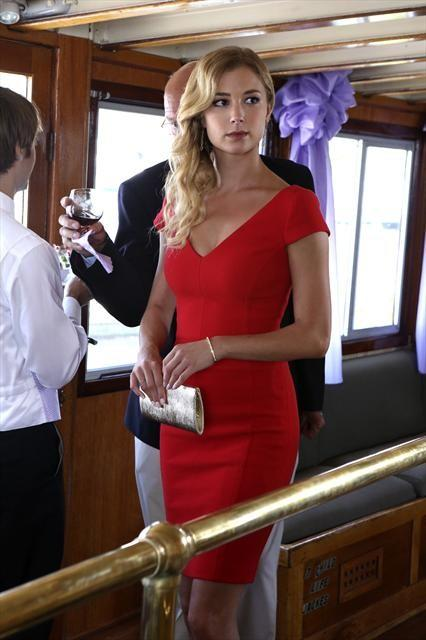 Emily Thorne in Red