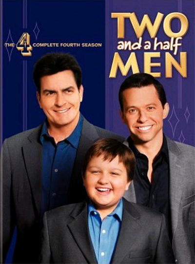Two and a Half Men Season 4 DVD