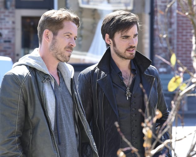 Killian and Robin - Once Upon a Time