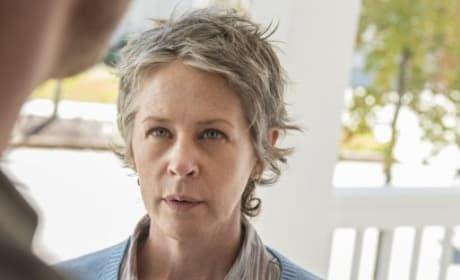 Serious Carol - The Walking Dead