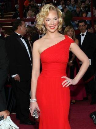 Heigl at the Oscars