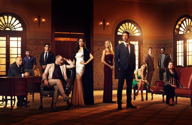 Tyrant Cast Photo