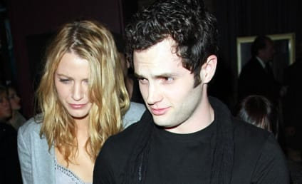 Penn Badgley, Blake Lively Outside the Box