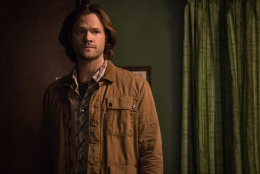 Sam is sad - Supernatural Season 12 Episode 21