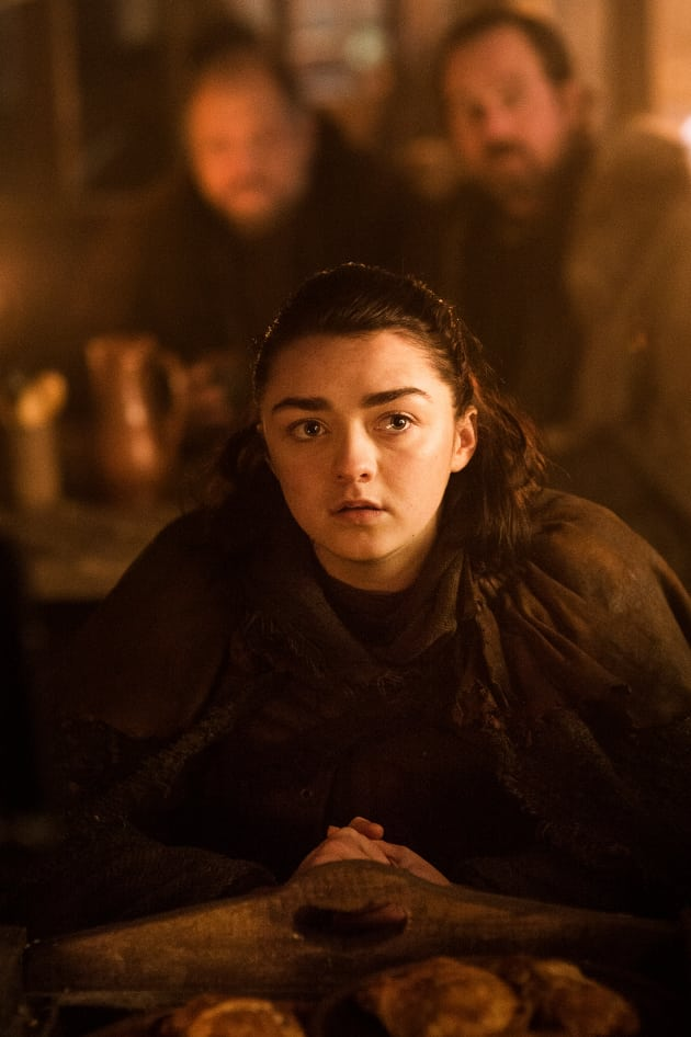 Maisie Williams as Arya Stark - Game of Thrones