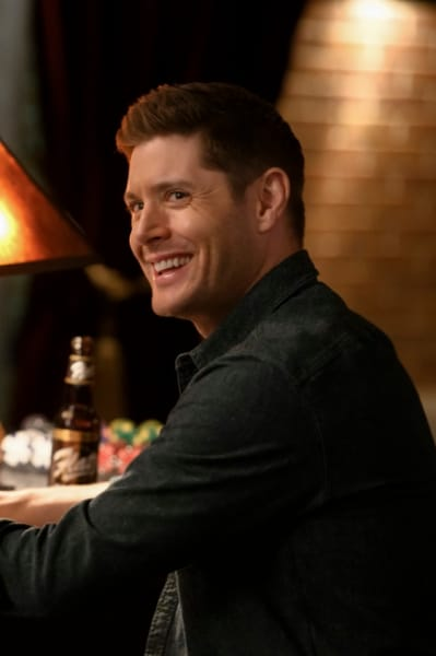 Enjoying Himself - Supernatural Season 14 Episode 17