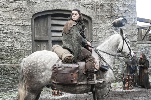 Arya Continues Her Mission - Game of Thrones Season 7 Episode 2