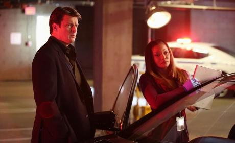Castle & Lanie on the Case