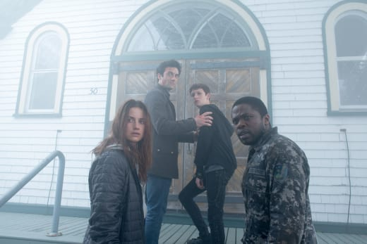 Heading into the Church - The Mist Season 1 Episode 2