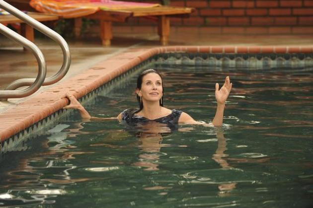 Jules Swimming