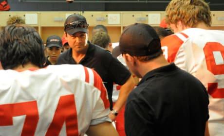 Coach in the Locker Room