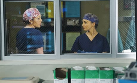 Callie and Amelia Talk it Over - Grey's Anatomy Season 11 Episode 24