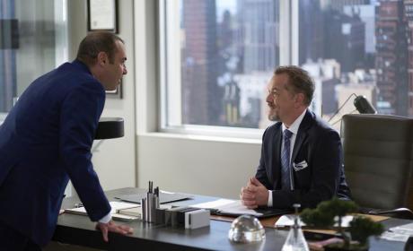Louis and Hardman - Suits Season 5 Episode 10