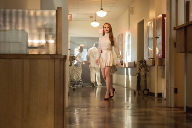 Why Is Cheryl At The Hospital? - Riverdale Season 2 Episode 1