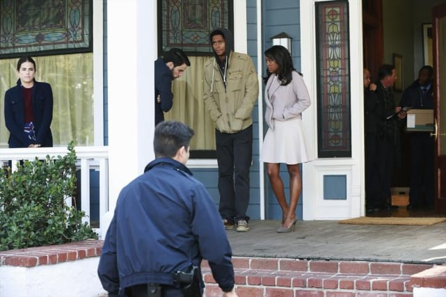 Trouble At Annalise's House - How To Get Away With Murder Season 1 Episode 10