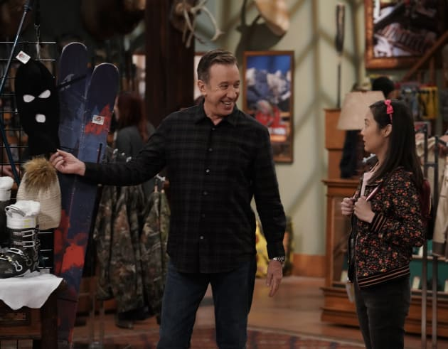 Mike and Jen - Last Man Standing Season 7 Episode 11