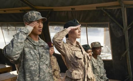 Combat Hospital Finale Scene