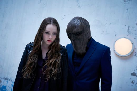 Amy Forsyth as Margot and Monster - Channel Zero