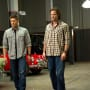 Sam and Dean in Slumber Party