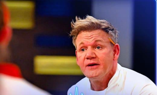 Gordon Reprimands  - Hell's Kitchen Season 20 Episode 1