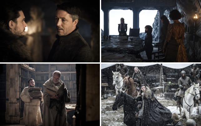 Meeting the family game of thrones s7e2