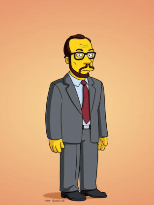James Lipton on The Simpsons