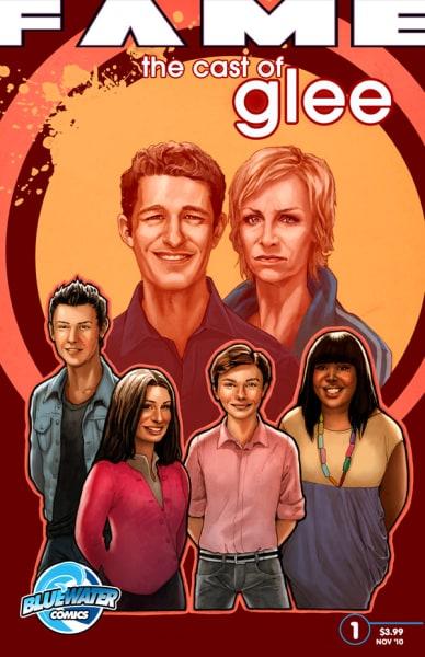 Glee Comic Book