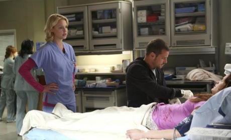 Alex, Izzie and Rebecca