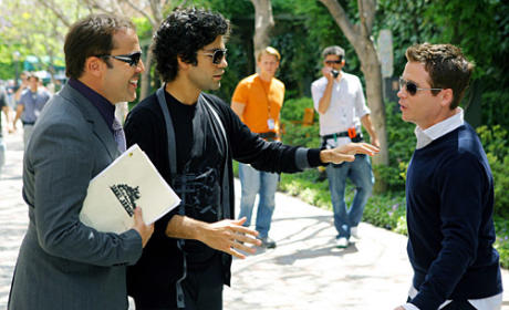 Ari, Vincent, and E